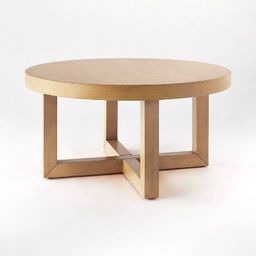 Rose Park Round Wood Coffee Table - Threshold™ designed with Studio McGee | Target