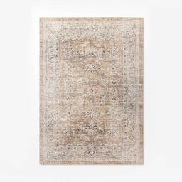 Woven Persian Border Rug Rust - Threshold™ designed with Studio McGee | Target