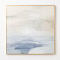 "36"" x 36"" Sky Sea Framed Wall Art - Threshold™ designed with Studio McGee | Target"