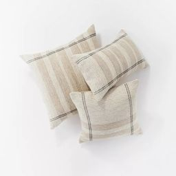 Woven Striped Throw Pillow Neutral - Threshold™ designed with Studio McGee | Target
