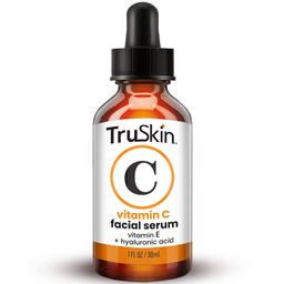 TruSkin Vitamin C Serum for Face, Topical Facial Serum with Hyaluronic Acid & Vitamin E, 1 fl oz | Amazon (US)