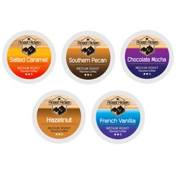 Roast Ridge Single Serve Coffee Pods Compatible with Keurig K-Cup Brewers, Variety Pack, 100 Coun... | Amazon (US)