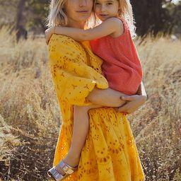 Tallulah Eyelet Mini Dress | Anthropologie (US)