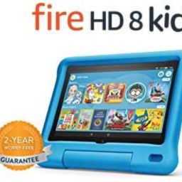 """Fire HD 8 Kids tablet, 8"""" HD display, ages 3-7, 32 GB, Blue Kid-Proof Case   Amazon (US)"""
