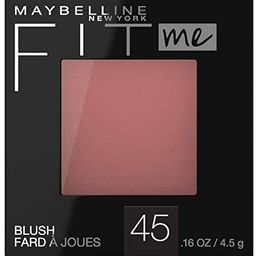 Maybelline New York Fit Me Blush, Plum, 0.16 fl. oz.   Amazon (US)
