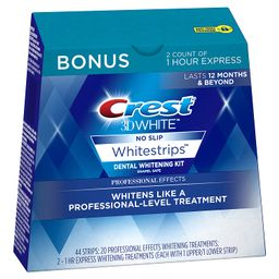 Crest 3D White Professional Effects Whitestrips 20 Treatments + Crest 3D White 1 Hour Express Whi... | Amazon (US)