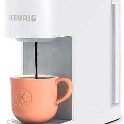 Keurig K-Slim Coffee Maker, Single Serve K-Cup Pod Coffee Brewer, 8 to 12 oz. Brew Sizes, White | Amazon (US)