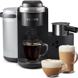 Keurig K-Cafe Single-Serve K-Cup Coffee Maker, Latte Maker and Cappuccino Maker, Comes with Dishw... | Amazon (US)