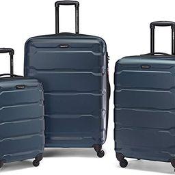 Samsonite Omni PC Hardside Expandable Luggage with Spinner Wheels, Teal, 3-Piece Set (20/24/28) | Amazon (US)