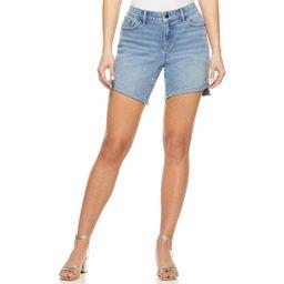 Sofia Jeans by Sofia Vergara Women's Lila Mid-Rise Cuff Shorts | Walmart (US)