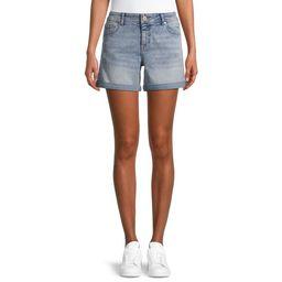 Jordache Women's Boyfriend Jean Shorts | Walmart (US)