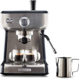 Calphalon BVCLECMP1 Temp iQ Espresso Machine with Steam Wand, Stainless Steel | Amazon (US)