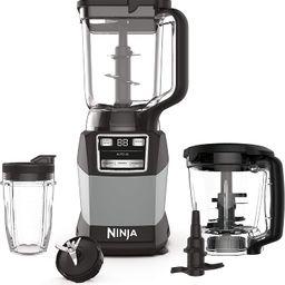 Ninja AMZ493BRN Compact Kitchen System with Auto-iQ, Blender Food Processor Combo, Blend, Chop, M... | Amazon (US)