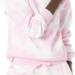 Amazon Essentials Women's Classic Fit Gathered Long Sleeve Crewneck Sweatshirt   Amazon (US)
