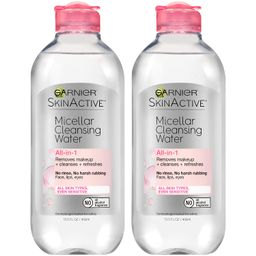 Garnier SkinActive Micellar Cleansing Water For All Skin Types, 13.5 Ounces (Pack of 2) | Amazon (US)