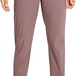 CRZ YOGA Women's Hiking Pants Lightweight Quick Dry Drawstring Joggers with Pockets Elastic Waist... | Amazon (US)