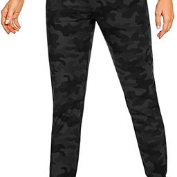 CRZ YOGA Women's Stretch Joggers Sweatpants Drawstring Fitted Cuffed Ankle Athletic Travel Yoga P... | Amazon (US)