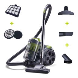 BLACK+DECKER Canister Adjustable Suction Multi-Cyclonic Vacuum Cleaner (BDXCAV217 ) | For Hard Fl... | Walmart (US)