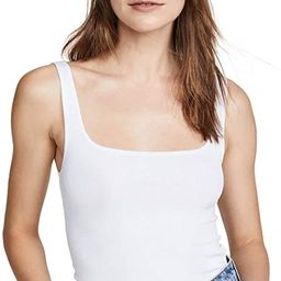 LNA Women's Essential Ribbed Scoop Tank | Amazon (US)
