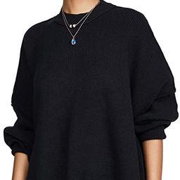 Free People Women's Easy Street Tunic Sweater | Amazon (US)