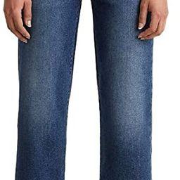 Levi's Women's Ribcage Straight Ankle Jeans | Amazon (US)