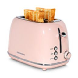 REDMOND 2 Slice Toaster Retro Stainless Steel Toaster with Bagel, Cancel, Defrost Function and 6 ...   Amazon (US)