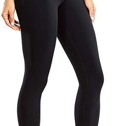 CRZ YOGA Women's Naked Feeling I Workout Leggings 25 Inches - High Waist Tight Yoga Pants   Amazon (US)