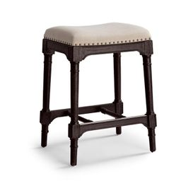 Logan Backless Bar & Counter Stool   Frontgate   Frontgate