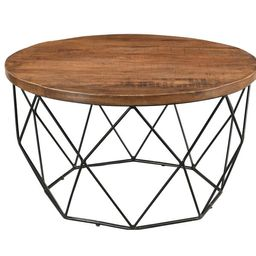 Fatima Round Cocktail Table with Tray Top | Wayfair North America
