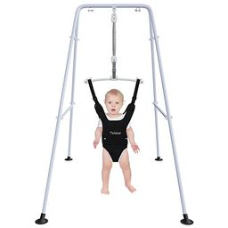 Baby Jumper with Stand,Baby Swing,Easy Set-Up,Baby Exerciser for Active Babies,Suitable for Indoo... | Amazon (US)