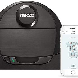 Neato Robotics D6 Connected Laser Guided Robot Vacuum for Pet Hair, Works with Amazon Alexa, Blac... | Amazon (US)