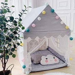 Kids Play Tent, Avrsol Large Playhouse Children Play Castle Fairy Tent for Girls Boys Birthday Gi... | Amazon (US)