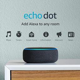 Echo Dot (3rd Gen) - Smart speaker with Alexa - Charcoal | Amazon (US)
