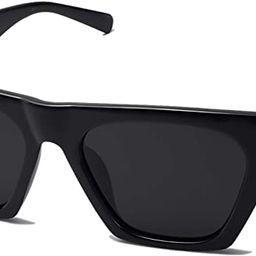 SOJOS Vintage Cateye Polarized Women Sunglasses Trendy Oversized Frame SJ2115   Amazon (US)