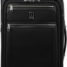 Travelpro Platinum Elite-Softside Expandable Upright Luggage, Shadow Black, Carry-On 22-Inch   Amazon (US)