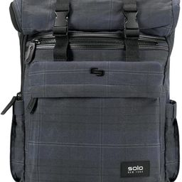 Solo New York Cameron Waxed Canvas Rolltop Backpack, Plaid   Amazon (US)