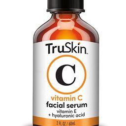 TruSkin Vitamin C Serum for Face with Hyaluronic Acid, Vitamin E, Witch Hazel, Large Bottle 2 fl ...   Amazon (US)
