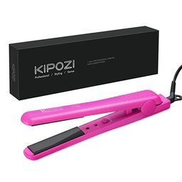KIPOZI 1 Inch Hair Straightener Ceramic Flat Iron for Hair with Adjustable Temp Straightens and C...   Amazon (US)