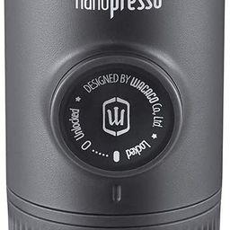 Wacaco Nanopresso Portable Espresso Maker, Upgrade Version of Minipresso, 18 Bar Pressure Hand Co...   Amazon (US)