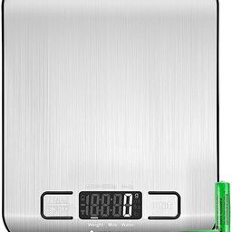 Etekcity Food Kitchen Scale, Digital Grams and Ounces for Weight Loss, Baking, Cooking, Keto and ...   Amazon (US)