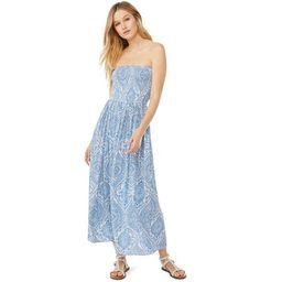 Scoop Women's Strapless Maxi Dress | Walmart (US)