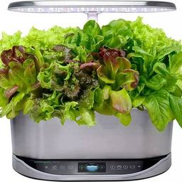AeroGarden - Bounty Elite - Easy Setup - Healthy Eating Garden kit - 9 Gourmet Herb pods included -  | Best Buy U.S.