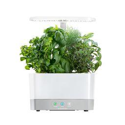 AeroGarden Harvest White Home Garden System | The Home Depot