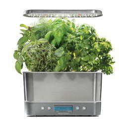 AeroGarden Harvest Elite with Gourmet Herb Seed Pod Kit, Silver | Kohl's