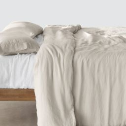 Stonewashed Linen Duvet Cover | The Citizenry