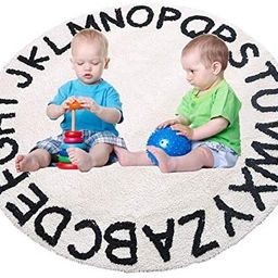 ABC Kids Rug Alphabet Educational Area Rugs for Infant Toddlers - Soft Playtime Collection, Home ... | Amazon (US)