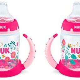 NUK Learner Cup, 5oz, 2-Pack, Flowers | Amazon (US)