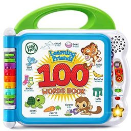 LeapFrog Learning Friends 100 Words Book (Frustration Free Packaging), Green | Amazon (US)