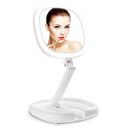 Lighted Makeup Mirror, Beautifive Double Sided Magnifying Mirror, Vanity Mirror with Lights, Smar...   Amazon (US)