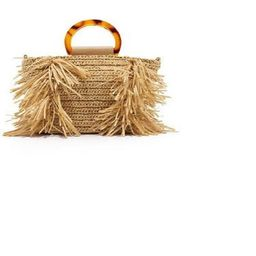 beige beach cabas in Cellulose Raphia, fringed tote, chic boho bag, palm tree bag, boho bag, summ... | Etsy (CAD)
